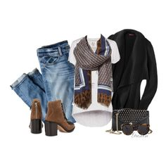 """""""scarf"""" by stacy-gustin on Polyvore"""