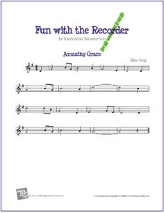 Amazing Grace | Free Sheet Music for Recorder