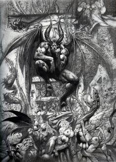 "Vintage Evil, svenson777:   Simon ""Biz"" Bisley   Artwork..."