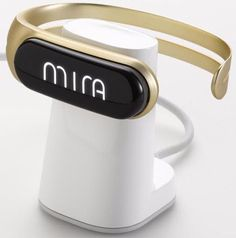 MIRA Fitness Bracelet Tracker and Activity Tracker (Brushed Gold jewellery #Mira