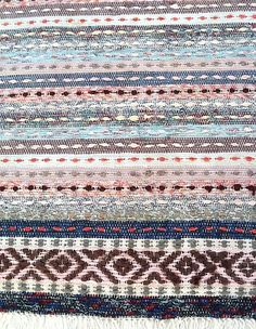 The Northern House - Swedish Rag Rug - Almtasa #diyragrugpattern
