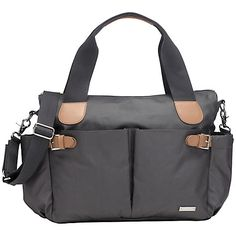 Buy Storksak Kay Changing Bag, Grey Online at johnlewis.com