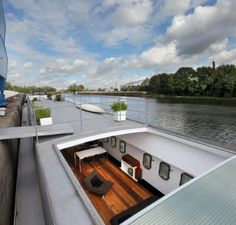 ghent houseboat barge