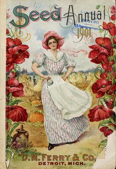 049-Woman in flowers frame on oats field      ...