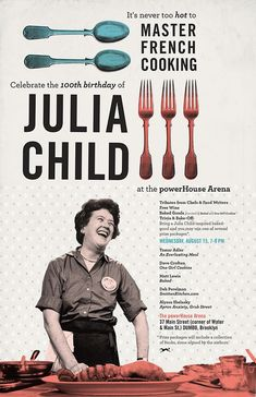 Julia Child book, are you planning on writing a cookbook, and you need a journal for your ideas,Freeflowchef chef journals is a great idea to have.