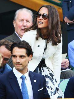 Pippa Middleton Photos: Wimbledon: Day 4