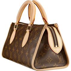 Louis Vuitton M40009 Handbag Popincourt Brown