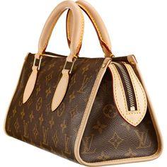 Louis Vuitton M40009 Handbag Popincourt Brown