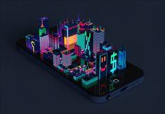 Digital City on Behance