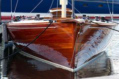 beautiful wooden hull - they don't make them like this any more
