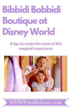 Bibbidi Bobbidi Boutique at Disney World is a magical experience but before you go make sure you know what to expect