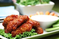 Two-Course Meal with Drinks for Two or Four at Murphy's Pub (Up to Off) Buffalo Chicken Strips, Buffalo Chicken Tenders, Baked Chicken Tenders, Dip Recetas, Pollo Buffalo, Crock Pot Dips, Pub Food, Tailgating Recipes, Tandoori Chicken