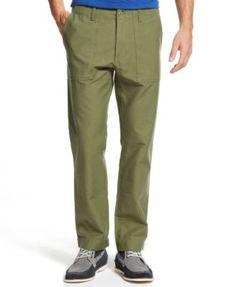 Tommy Hilfiger Fred Field Custom-Fit Pants