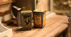 ~ GypsyBoudoirMiniatures ~: Old tin boxes