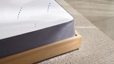Sleep better in the award-winning Casper Original Mattress! Designed with layers of premium, breathable memory foam. Available in all-foam or hybrid in 6 sizes. Casper Bed, Casper Mattress, King Size Mattress, Best Mattress, Foam Mattress, King Size Pillows, Mattress Protector, Good Sleep, Indoor Air Quality