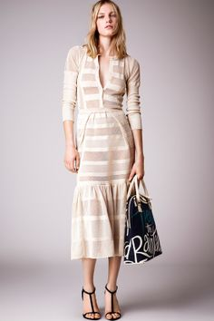 Burberry Prorsum Resort 2015 #lace