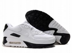 Ken Griffey Shoes Nike Air Max 90 White Black Mesh [Nike Air Max 90 - Definitely a pair of breathable and durable Nike Air Max 90 White Black Mesh shoes will let you feel well. White upper is made of mesh and leather. The shoes feature black Nike bran Nike Air Max 90s, Cheap Nike Air Max, Nike Shoes Cheap, Nike Shoes Outlet, Mens Nike Air, Nike Store, Nouvelle Air Max, Nike Free, Smith Adidas