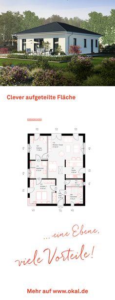 #okalhaus #architektur #Bungalow Entdecken Sie unsere Bungalows auf www.okal.de
