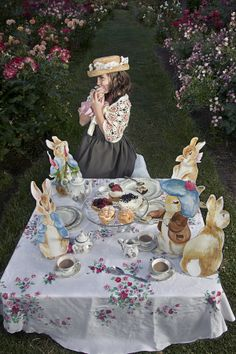 Vintage Easter Party - A Memory of Beatrix Potter by Cindy Chi with Pin-It-Button on 500px