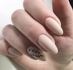 Gel Nail Designs You Should Try Out – Your Beautiful Nails Oval Nails, Nude Nails, Matte Nails, Manicure And Pedicure, Gorgeous Nails, Pretty Nails, Hair And Nails, My Nails, Nailed It