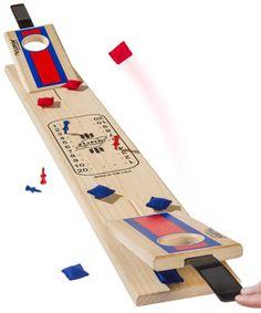 Flipin' Cornhole: Tabletop version of the popular yard game.