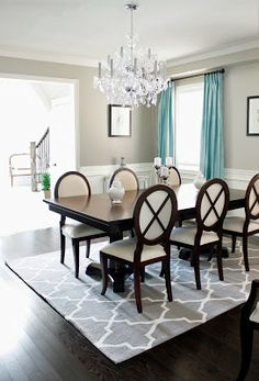 Dining Rug hale navy and board and batten dining room! | dining room decor
