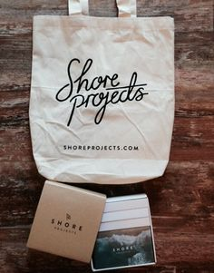 How cute is the Shore Project's packaging? Brand Packaging, Packaging Design, Branding Design, Logo Design, Shirt Packaging, Typography Logo, Graphic Design Typography, Layout Design, Print Design