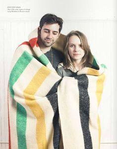 Hudson Bay Blanket via Camp Wandawega style book