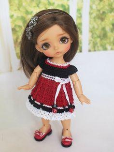 Красивые платья, комплекты на пукифи, Lati Yellow, Luts Tiny Delf / Одежда для кукол / Шопик. Продать купить куклу / Бэйбики. Куклы фото. Одежда для кукол