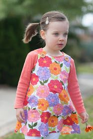 While she was sleeping: Kids Clothes Week - Project Three - The Flower Dress
