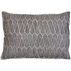 "Limited Edition Ridgeline Onyx Pillow 12""x16"", $112"