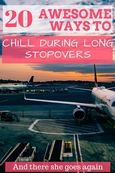Long stopovers at airports can be very tiring and irritating if not planned well. Check out 20 ways to make your stopover a memorable part of your journey.  #stopovers #airports #longstopovers #travel #flights
