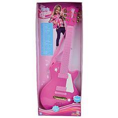 Simba My Music World Girls Rock Guitar, Multi Color Simba http://www.amazon.in/dp/B00HQXG3GO/ref=cm_sw_r_pi_dp_kPvDwb09YC8BK #SimbaToys #toys #kids #toddlers #Infants #colorful #playtime #Music #pink #amazonindia