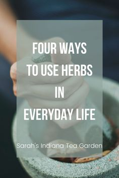 Herbs are fun to grow, but even better to use. There are so many ways we can use herbs in our everyday life. We can make them into herbal teas, use herbs in cooking, make medicinal herb products, and make different herbal crafts to enjoy day after day. Indoor herbs | Outdoor Herbs | Growing herbs indoors | Growing herbs outdoors | Growing herbal tea | Medicinal Herbs | How to use herbs | How to dry herbs | How to preserve herbs Garden Tips, Herb Garden, Preserve Herbs, Growing Herbs Indoors, Indoor Herbs, Herbs For Health, Herbal Teas, Tea Blends, Medicinal Herbs