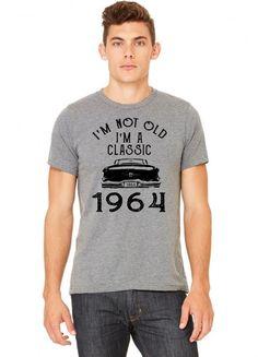 i'm not old i'm a classic 1964 Tshirt