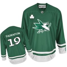 f6f0781de Joe Thornton-Buy 100% official Reebok Joe Thornton Youth Premier St Patty s  Day Green Jersey NHL San Jose Sharks  19 Free Shipping.