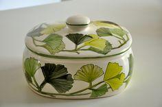 ceramic pot hand painted
