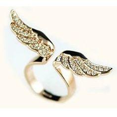 anel de strass em forma de asa das mulheres shixin® de 2016 por €0.97