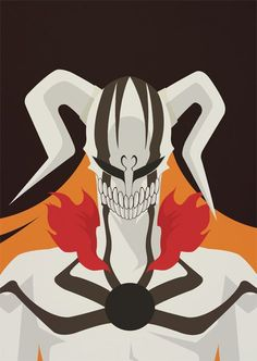 """Poster I did based on the manga """"Bleach"""", titled """"Hollow"""". Bleach Manga, Bleach Ichigo Bankai, Bleach Art, Bleach Pictures, Cool Anime Pictures, Manga Anime, Anime Art, Manga Art, Shinigami"""