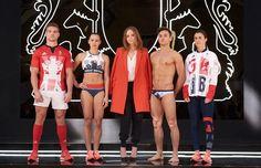Pela segunda vez consecutiva, Stella McCartney  é quem assina os uniformes dos atletas britânicos nas Olimpíadas  (Foto: Divulgação)