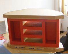Un meuble de télévision en carton - De sa conception jusqu'à sa construction - (video)