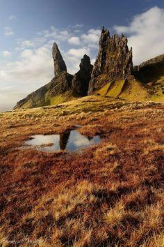Old Man of Stor, Isle of Skye, Scotland photo via judy