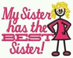 Correction....Sisters! (: