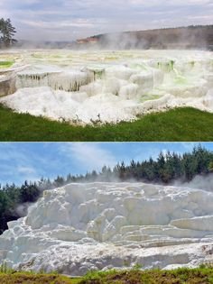 """Egerszalók, Hungary, the cascade of water is called """"Salt Hill"""" European River Cruises, Heart Of Europe, Moldova, Travertine, Eastern Europe, Homeland, Beautiful Places, Spaces, Adventure"""