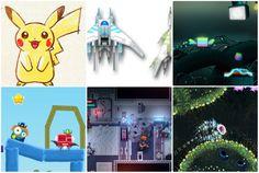 Deep Under The Sky, Halfway, Hmm... tv?, Jelly Splash, Quad Cop, космический корабль, космос, пикачу