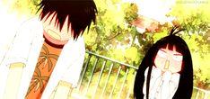 ''Sawako:Kazehaya descubrio que lo ehh estado mirando. Kazehaya:Wuaaaa!porque te pones asi!?'' XD