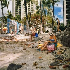 ©Raymond Depardon/Magnum photos Plage de Wai Ki Ki, Honolulu, 2013