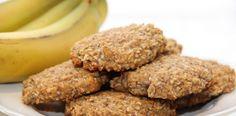 banana coconut buckwheat cookies