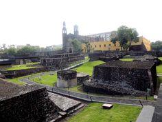 Sítio Arqueológico de Tlatelolco - Cidade do México (08-2014)