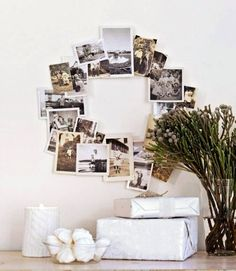 ... Then Replace With Photos For Rest Of The Year   Good Idea   DIY  Christmas Decorations   Handmade Christmas Decoration Craft Ideas   Country  Living
